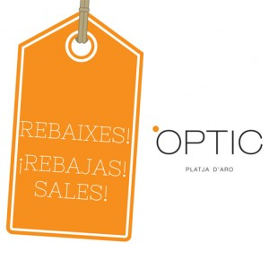 rebajas gafas OPTIC Platja d'Aro