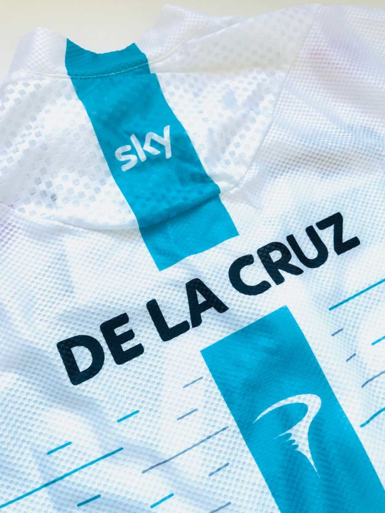 maillot team sky david de la cruz