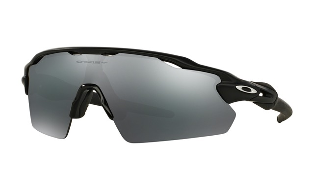 oakley radar black iridium