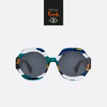 gafas de sol de pasta redondas Dior