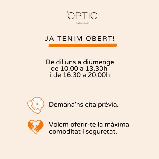 optic platja daro horari