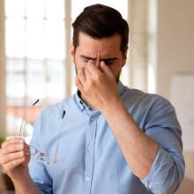 efectos de la mascarilla en los ojos